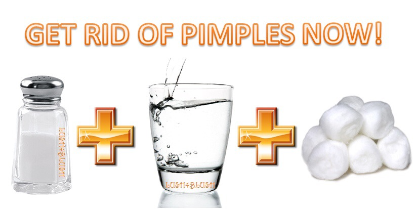 how to get rid of a huge pimple fast