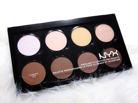 Afbeeldingsresultaat voor nyx contour and highlight pro palette
